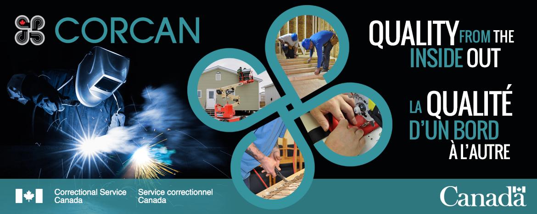 Bannière CORCAN - cliquez pour rediriger vers le site Web de CORCAN.
