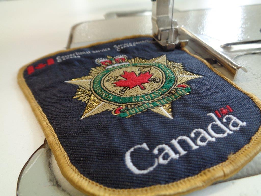 Patch in sowing machine