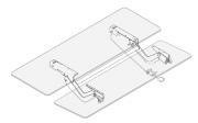 A168-KM-ELEXT19 Humanscale Dual Arm
