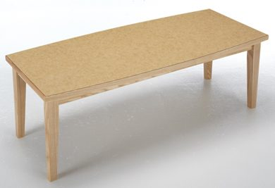 Cordelle coffee table made of wood