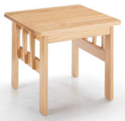 Burrard End table made of wood