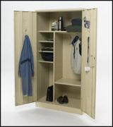 Troop kit storage locker
