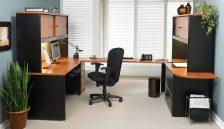 Bureau avec mobilier Metaflex