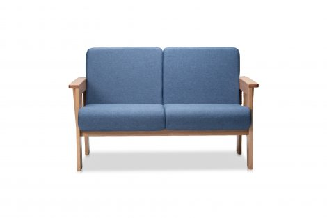 Burrard Love Seat (Front View)