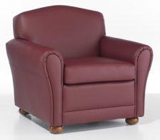 tear drop arm chair