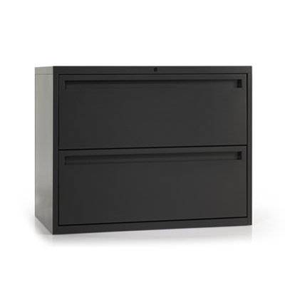 Two drawer lateral cabinet